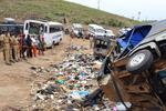 印度北方邦发生严重交通事故 致22人死亡多人受伤
