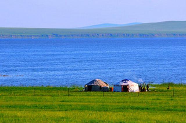 """不敌""""高烤"""" 中国第四大淡水湖面积缩小"""