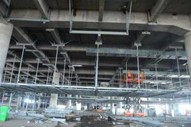 最新进展 青岛新机场行李处理系统开始安装
