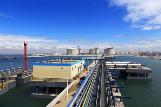 山东LNG之码头(高琰飙摄影作品)