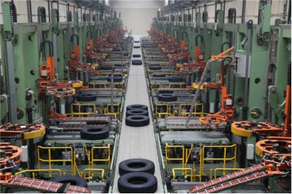 """全球第一个商用车胎""""工业4.0""""智能工厂"""