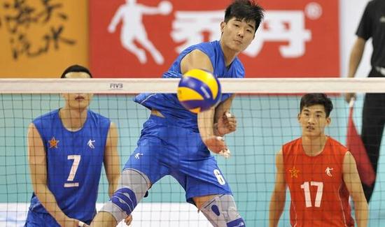 马晓腾效力的解放军队3--0逆袭北京队夺冠