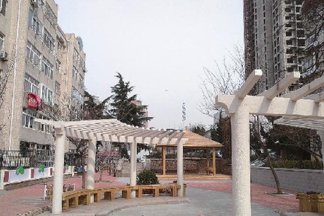 """青岛老旧楼院整治:昔日脏乱差 如今""""像公园""""(图)"""