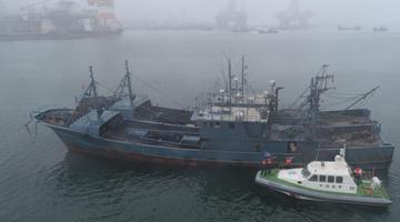 烟台防抗台风巴威 大量渔船在港避风