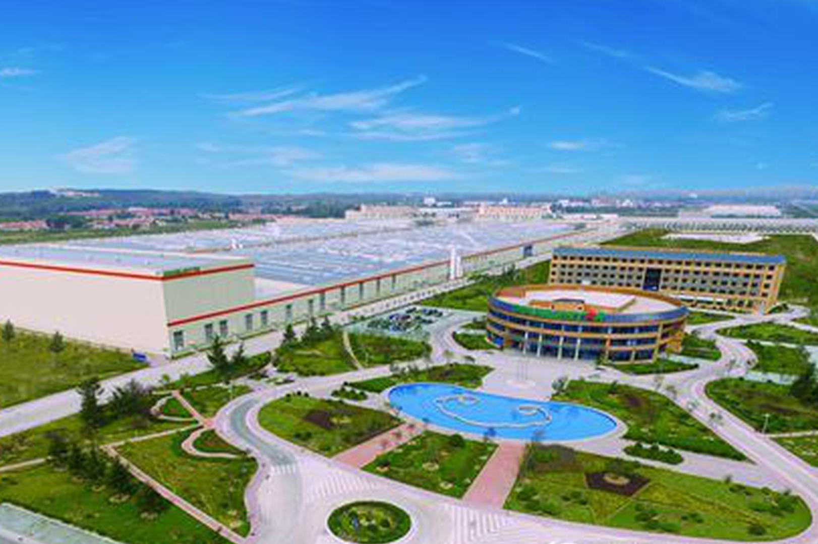 位于董家口经济区的双星工业4.0智能化工厂
