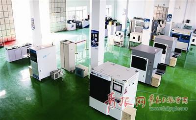 ▲三迪时空集团内的3D打印智能制造加工服务中心。