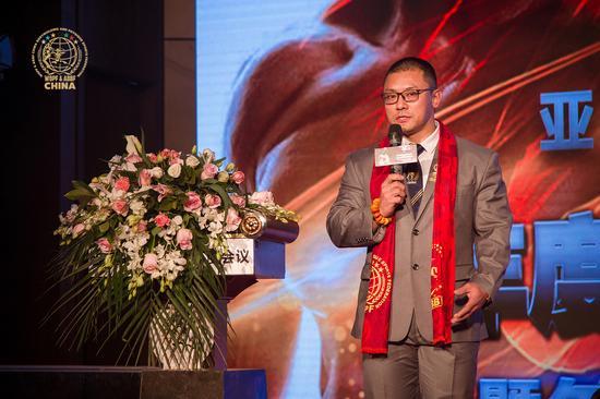 亚健联中国分会秘书长辛健