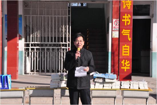 (济南南部山区管理委员社会事务局吴艳林主任对孩子的寄语)