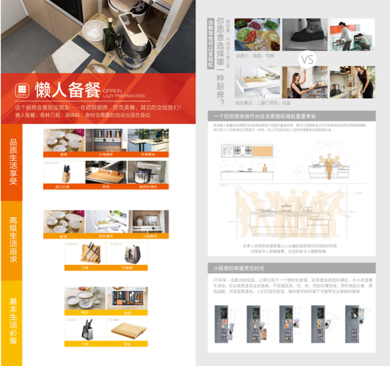 欧派橱柜——懒人备餐系统