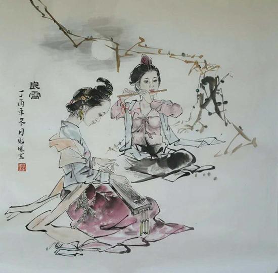 郝彩凤老师小写意作品