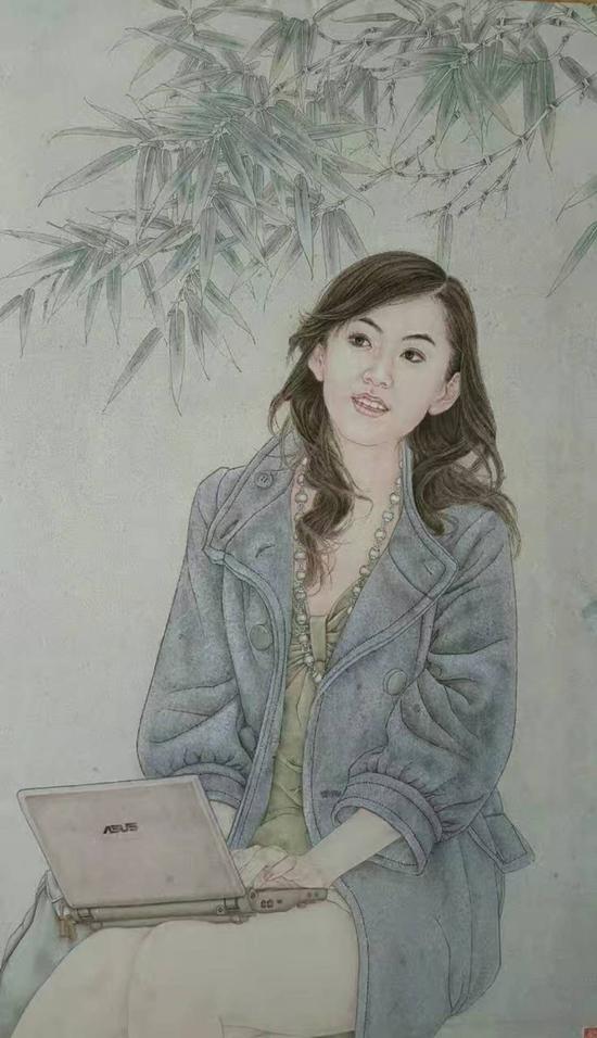 郝彩凤老师工笔画作品