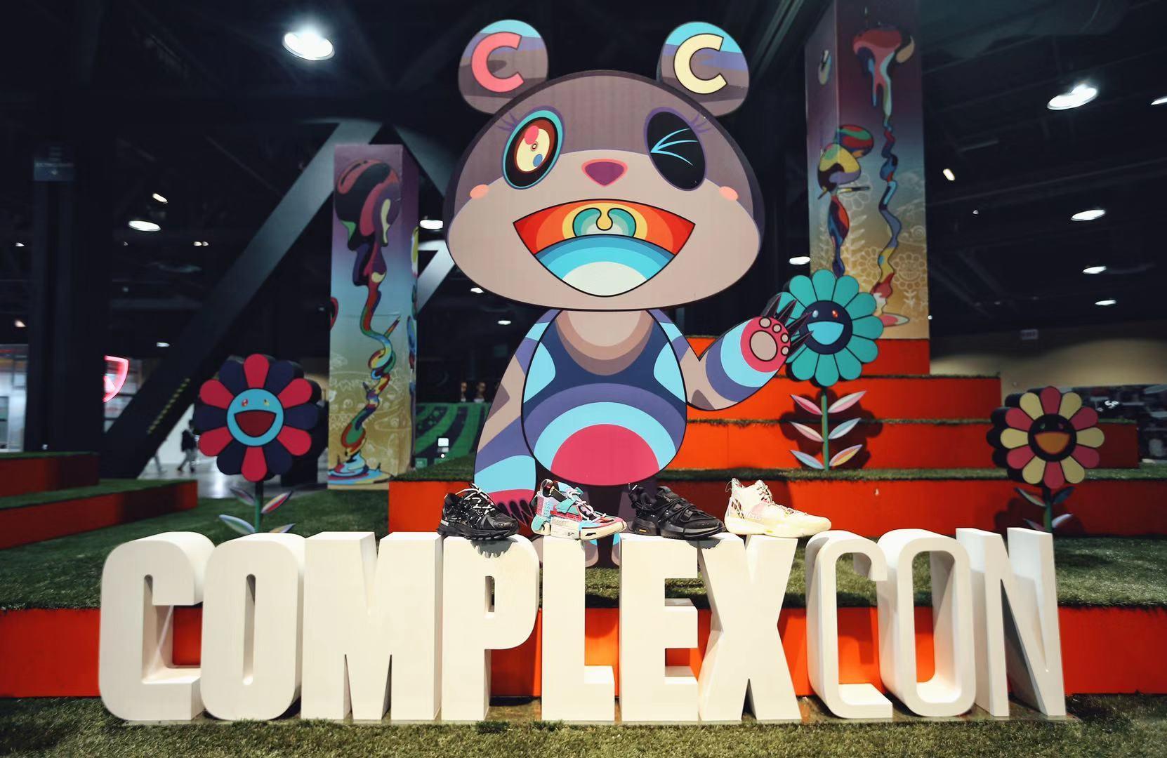 Complex Con开幕 中国李宁「行」至洛杉矶