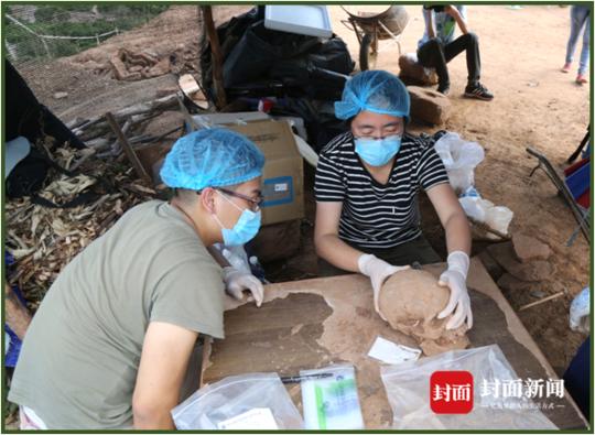 四川乌东德水电站考古:目前已发掘350余座早期石棺葬