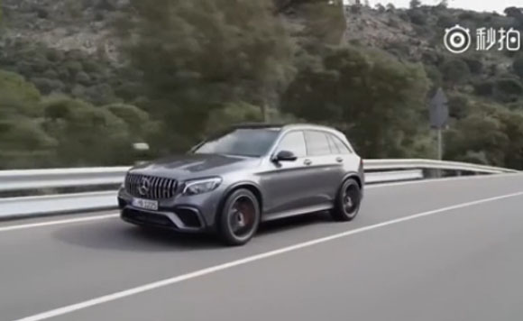 视频:奔驰AMG GLC63S发布