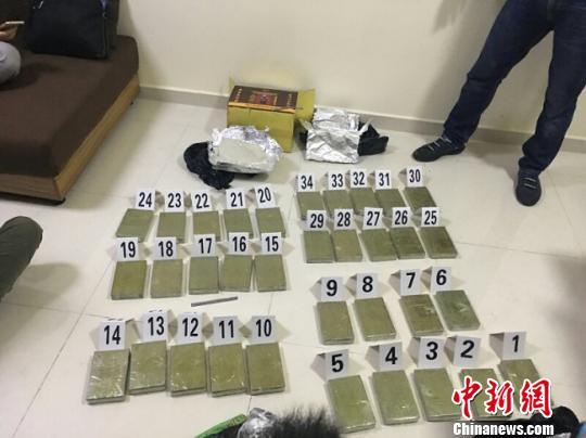 广西崇左警方联合广东多地警方破获特大跨国贩毒案