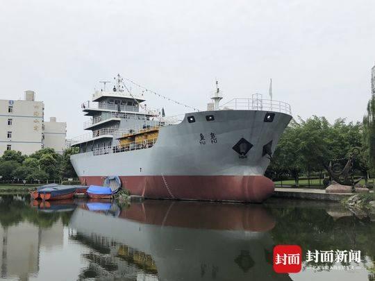 为方便学生模拟实战 四川这所高校竟然造了艘船