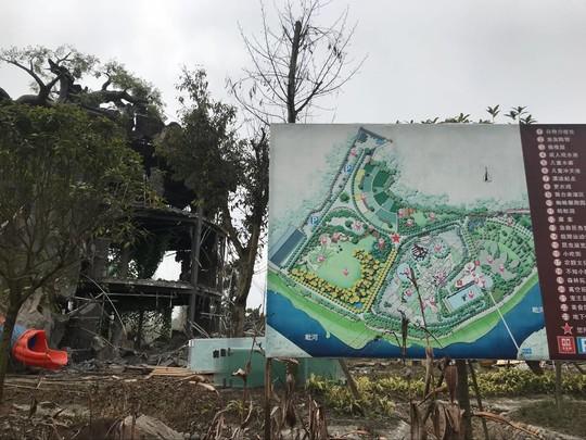 设施农用地上建游乐场 炫乐彩票青白江一处大棚房被拆除