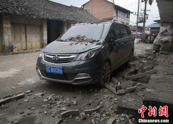 四川严格排查荣县震区地质灾害