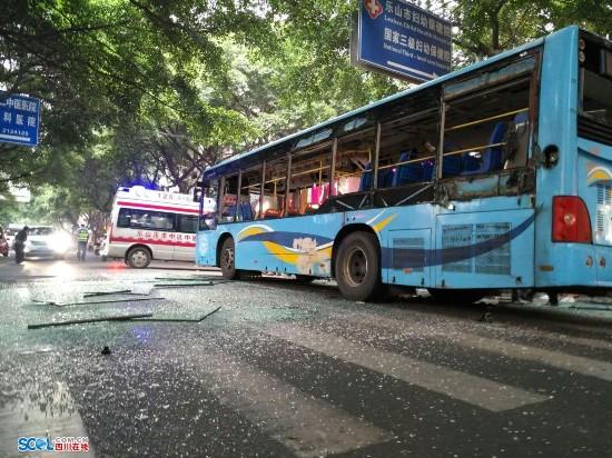 乐山公交车爆炸