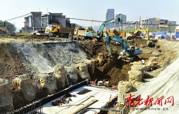 6月中旬 南充滨江南路地下综合管廊将全线贯通