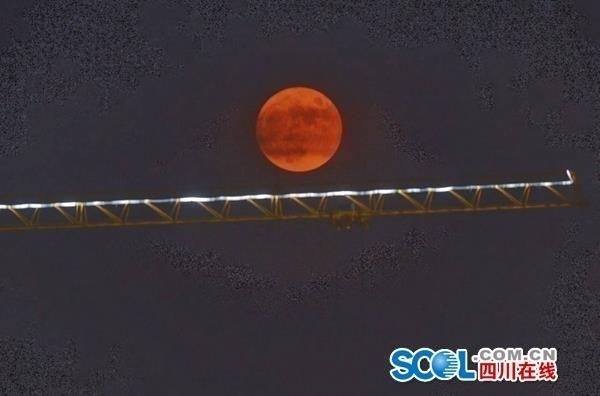 超大超高清的超级月亮来了!
