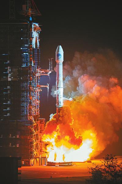 破纪录 西昌卫星发射中心今年完成15次发射任务