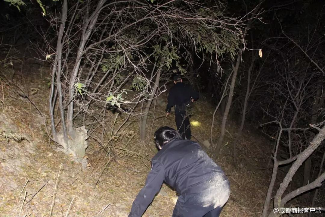 攀枝花六旬太婆深夜滚下山坡 30人搜山5小时找到她
