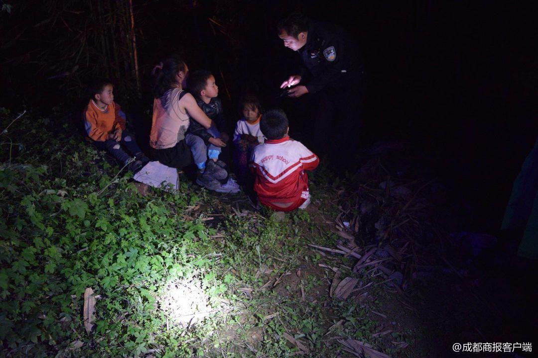 什么情况? 外省妇女带四个孩子夜宿宜宾深山竹林