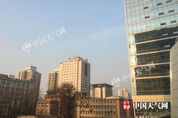 未来三天北京气温居高不下 空气污染较为严重