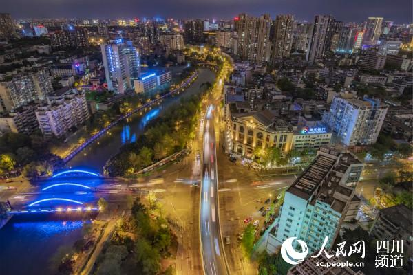 成都锦里中路跨线桥实施拆除 原地建设地铁13号线文翁站