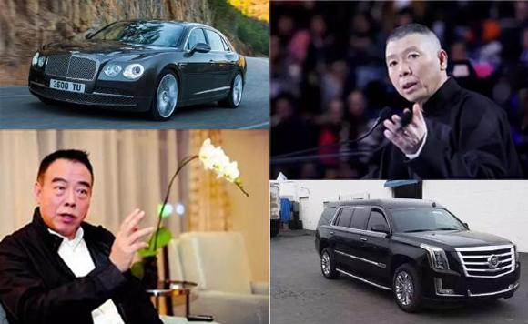扒皮中国十大最牛导演的座驾是什么车