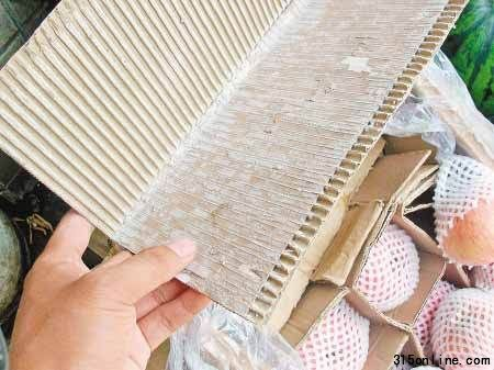 一箱芒果25斤9斤多都是纸追踪 彭州制定包装标准