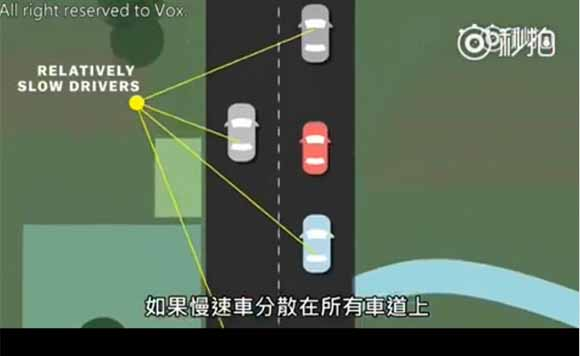 视频:为何不可在高速公路上龟速行驶