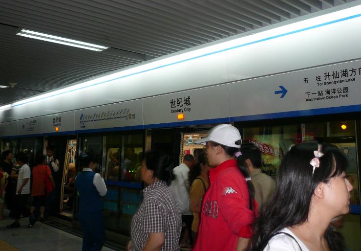 成都地铁1号线太挤 力争把18号线北延到火车北站