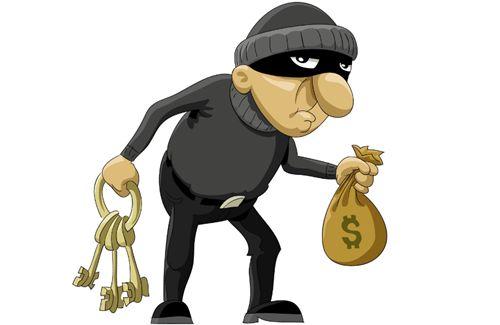 小偷盗窃近两百万现金逃跑 为摆脱追赶边跑边撒钱