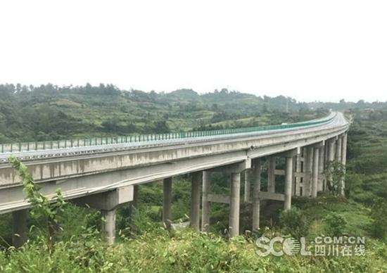 渝广高速重庆段一期20日开通 广安45分钟可跑重庆