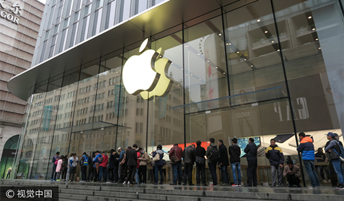 十年来首次 iPhone发售当天成都太升路水货无人问津