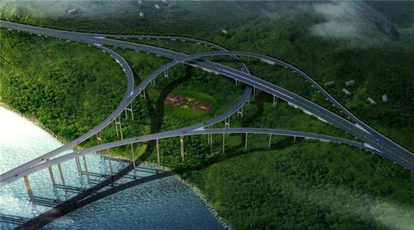 ▲乐西高速公路马边至昭觉段路线方案示意图