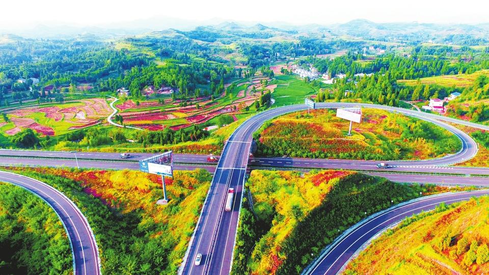 立体大交通 把四川达州渠县带上腾飞的快车道