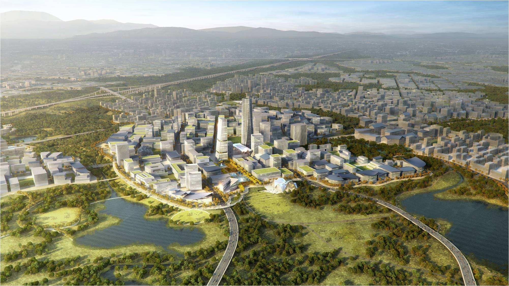 成都打造千畝中國科幻城 初步選址成都天府國際空港新城