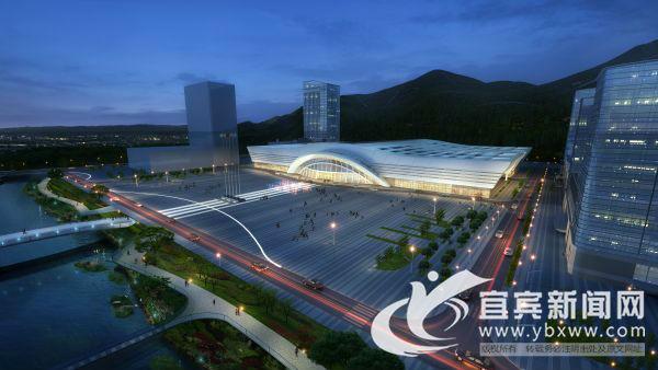 打造宜宾首个会展中心 临港产业总部基地面纱初揭