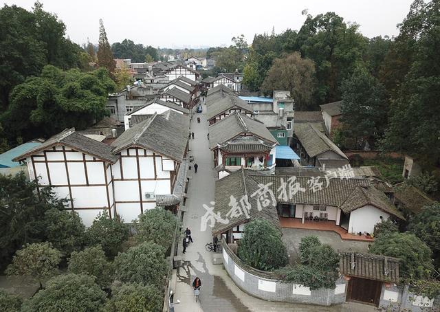 修旧如旧 崇州温江两地联手再造川西唯一集市林盘