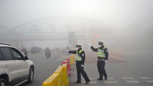 遇重污染天气 乐山中心城区将实施临时交通管理措施