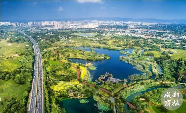 720度漫游建设中的天府绿道 感受成都生活之美