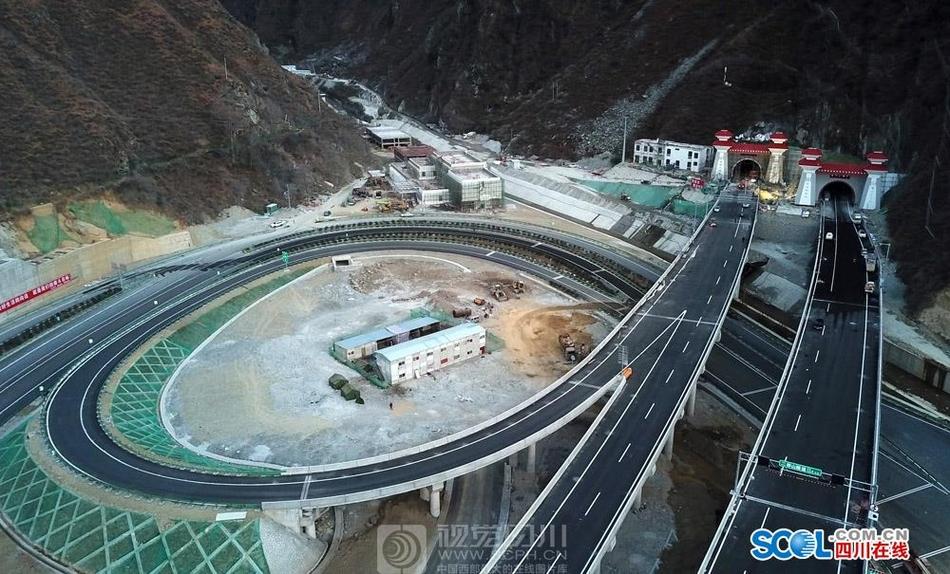 雅康高速二郎山隧道先睹为快 珍贵老照片回顾二郎山