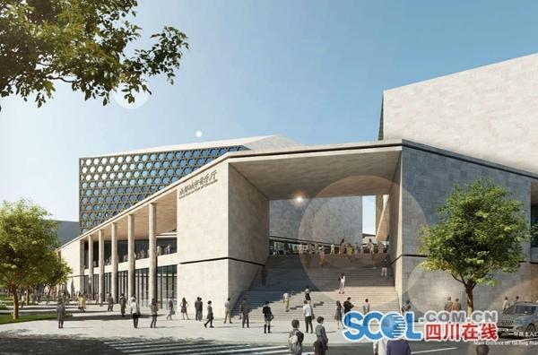 成都城市音乐厅主体完工啦!今年12月29日将迎首场秀