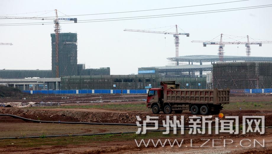 泸州云龙机场航管系统土建工程完工 航站楼建设加速