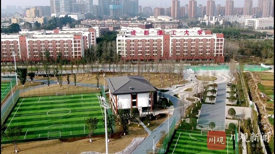 成都市城东体育公园一期已初步呈现,进入收尾工作