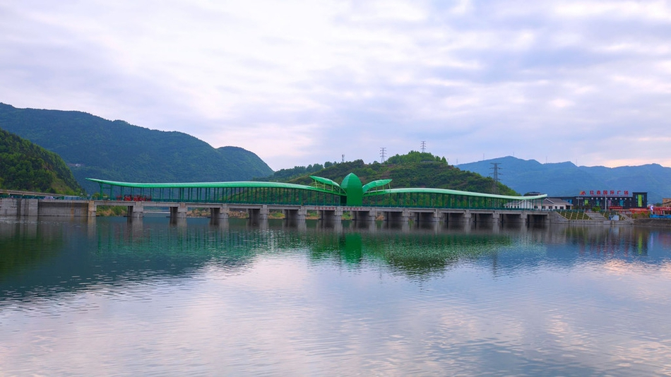 红桥配绿桥,广元旺苍新打卡地标太抢眼!