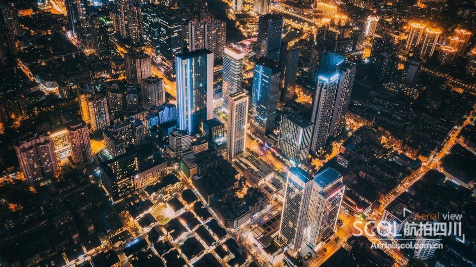 四川最美夜景航拍图集 看看有没有你家乡